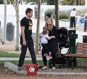 Drew Barrymore, Will Kopelman and Olive Barrymore Kopelman