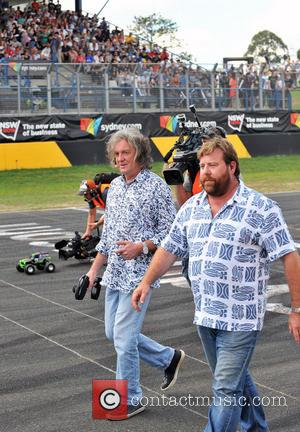James May and Atmosphere - Top Gear Festival Sydney 2014 - Sydney, Australia - Sunday 9th March 2014