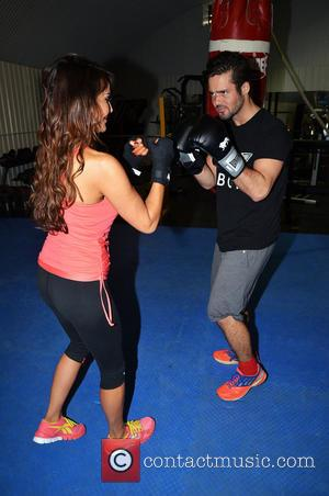 Lizzie Cundy and Spencer Matthews - Photocall fo boxer, David
