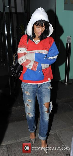 Rihanna - Rihanna and Drake are seen leaving Nobu restaurant seconds apart after having dinner together. The rumoured couple were...