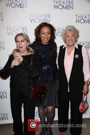 Zoe Caldwell, Tamara Tunie and Tyne Daly - League Of Professional Theatre Women awards at The Pershing Square Signature Center...
