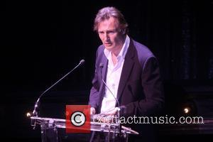 Liam Neeson - 2014 Roundabout Spring Gala, held at the Hammerstein Ballroom - Presentation - New York, New York, United...