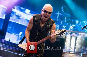 Scorpions and Rudolf Schenker - German rock band Scorpions perform live at MEO Arena - Lisboa, Portugal - Monday 10th...