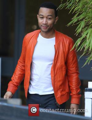 John Legend - Celebrities at the ITV studios