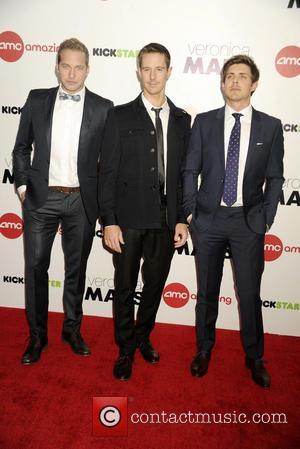 Ryan Hansen, Jason Dohring and Chris Lowell