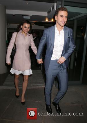 Richard Fleeshman and Samantha Barks - 'Urinetown' held at the St James Theatre - Press Night - London, United Kingdom...