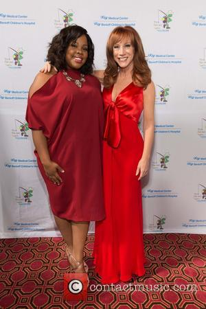 Amber Riley and Kathy Griffin