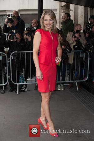 Charlotte Hawkins - The 2014 Tric Awards held at The Grosvenor House - Arrivals. - London, United Kingdom - Tuesday...