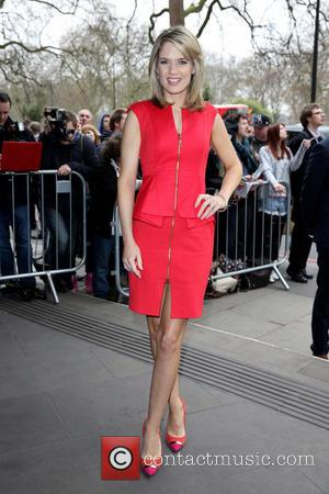 Charlotte Hawkins - The Tric Awards 2014 held at the Grosvenor House Hotel - Arrivals - London, United Kingdom -...