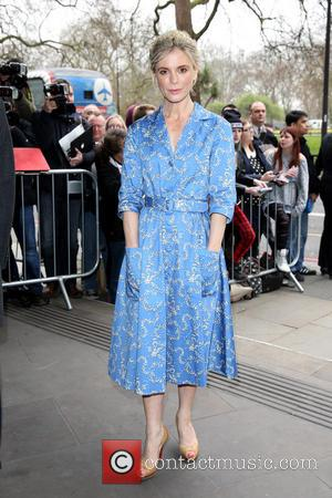 Emilia Fox - The Tric Awards 2014 held at the Grosvenor House Hotel - Arrivals - London, United Kingdom -...