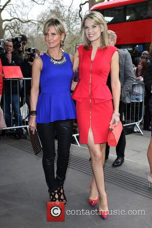 Charlotte Hawkins and Jacquie Beltrao - The Tric Awards 2014 held at the Grosvenor House Hotel - Arrivals - London,...