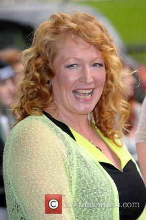 Charlie Dimmock - The Tric Awards 2014 held at the Grosvenor House Hotel - Arrivals - London, United Kingdom -...