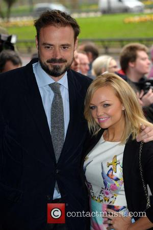 Jamie Theakstone and Emma Bunton