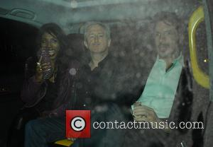 Sinitta, Louis Walsh and Guest