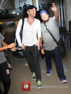 Chris Martin - Chris Martin of Coldplay at Los Angeles International Airport (LAX) - Los Angeles, California, United States -...