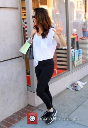 Robin Tunney - Robin Tunney shopping at Thibiant Beverly Hills on Bedford Drive in Beverly Hills - Beverly Hills, California,...