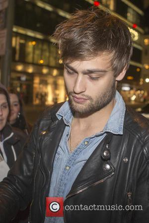 Douglas Booth - The cast of the film NOAH arriving for dinner at Borchardt restaurant on the evening ahead of...