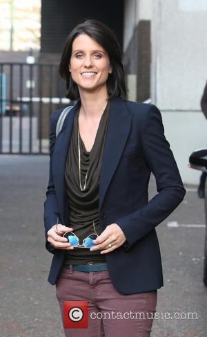 Heather Peace - Heather Peace outside the ITV studios - London, United Kingdom - Wednesday 12th March 2014