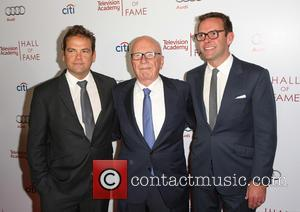 Rupert Murdoch, James Murdoch and Lachlan Murdoch - The Television Academy's 23rd Hall of Fame Ceremony at the Beverly Wilshire...