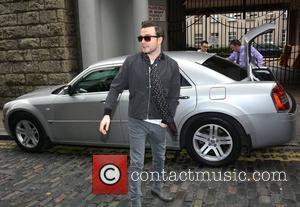 Shane Filan - Singer Shane Filan at Newstalk Radio station as a guest on The Pat Kenny Show... - Dublin,...