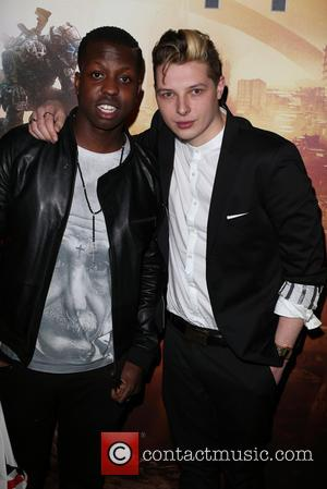Jamal Edwards and John Newman - Titanfall UK Launch Party at the Boiler House in the Old Truman Brewery. Celebrities...