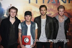Lawson - Titanfall UK Launch Party at the Boiler House in the Old Truman Brewery. Celebrities and fans played the...