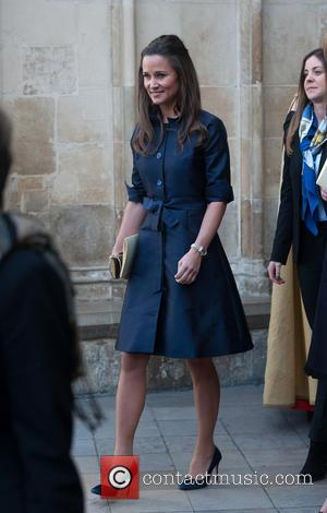 Pippa Middleton - David Frost - memorial unveiling and service of remembrance held at Westminster Abbey - Departures. - London,...