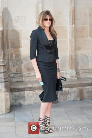 Jemima Khan - David Frost - memorial unveiling and service of remembrance held at Westminster Abbey - Arrivals. - London,...