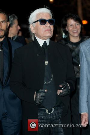Karl Lagerfeld - Karl Lagerfeld store / fragrance launch party & dinner held at Harrods - Arrivals. - London, United...