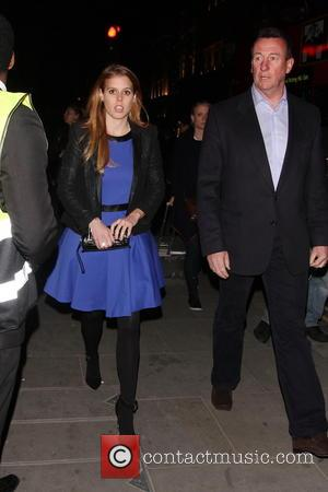 Princess Beatrice - Karl Lagerfeld store and fragrance launch party & dinner held at Harrods - Arrivals - London, United...
