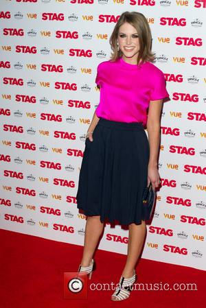 Amy Huberman - 'The Stag' Gala screening at the Vue Leicester Square - Arrivals - London, United Kingdom - Thursday...