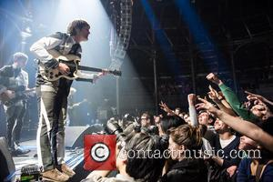 Alex Kapranos, Nicholas McCarthy and Franz Ferdinand - Franz Ferdinand performs live at the Roundhouse - London, United Kingdom -...
