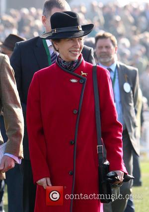 HRH Princess Anne - Cheltenham Festival day 4, Gold Cup Day, arrivals - Cheltenham Gloucestershire, United Kingdom - Friday 14th...