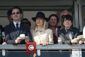 Lily Allen and Jimmy Carr