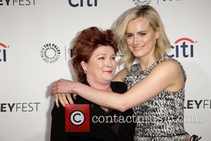 Kate Mulgrew and Taylor Schilling