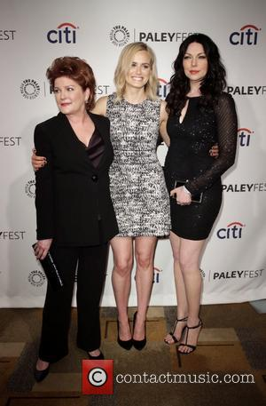 Kate Mulgrew, Taylor Schilling and Laura Prepon