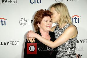 Kate Mulgrew and Taylor Schilling - Celebrities attend the 2014 PaleyFest presentation of 'Orange Is the New Black' at the...