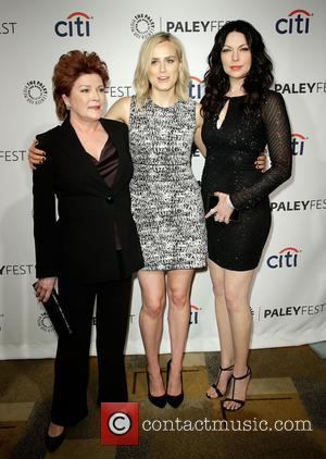 Kate Mulgrew, Taylor Schilling and Laura Prepon - Celebrities attend the 2014 PaleyFest presentation of 'Orange Is the New Black'...