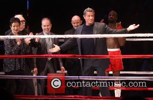 Lynn Ahrens, Thomas Meehan, Stephen Flaherty, Steven Hoggett, Sylvester Stallone and Terence Archie