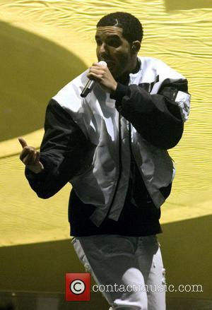 Drake - Rapper Drake performs live in Scotland