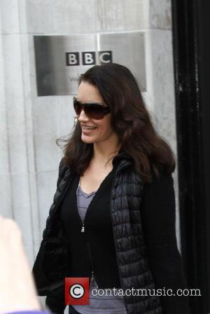 Kristin Davis - Kristin Davis at Radio 2. She is in a show at The Haymarket Theatre. - London, United...