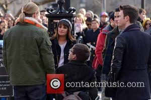 Chord Overstreet, Lea Michele, Kevin Mchale, Chris Colfer and Darren Criss
