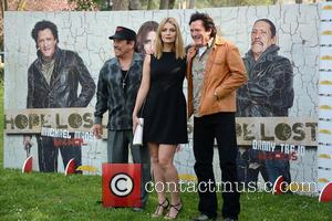 Mischa Barton, Michael Madsen and Danny Trejo - Photocall for the new film 'Hope Lost' held at Casa del Cinema...