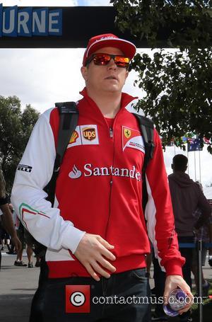 Kimi Räikkönen and (RAIKKONEN) - Kimi Räikkönen, (RAIKKONEN), FIN, Ferrari,  Ausralian F1 Grand Prix 2014, Albert Park - Melbourne,...