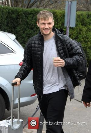 Nick Carter - Members of Backstreet Boys arriving at their Cologne hotel - Cologne, Germany - Sunday 16th March 2014