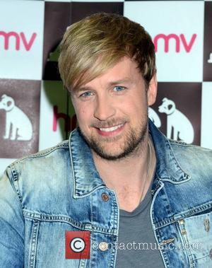 Kian Egan - Former Westlife member Kian Egan launches his debut solo album 'Home' at HMV Dundrum... - Dublin, Ireland...
