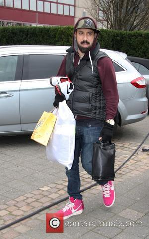 Alexander James A. J. McLean - Members of Backstreet Boys arriving at their Cologne hotel - Cologne, Germany - Sunday...