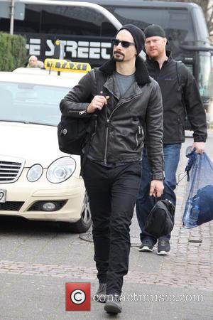 Kevin Richardson - Members of Backstreet Boys arriving at their Cologne hotel - Cologne, Germany - Sunday 16th March 2014