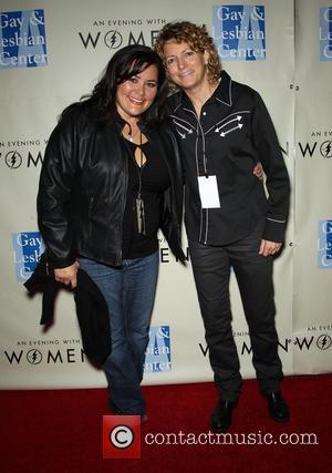 Annie Goto and Kelly Lynch -