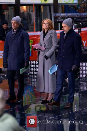 Carson Daly, Savannah Guthrie and Matt Lauer - Enrique Iglesias performs on NBC's 'Today' Show at Rockefeller Plaza - Manhattan,...